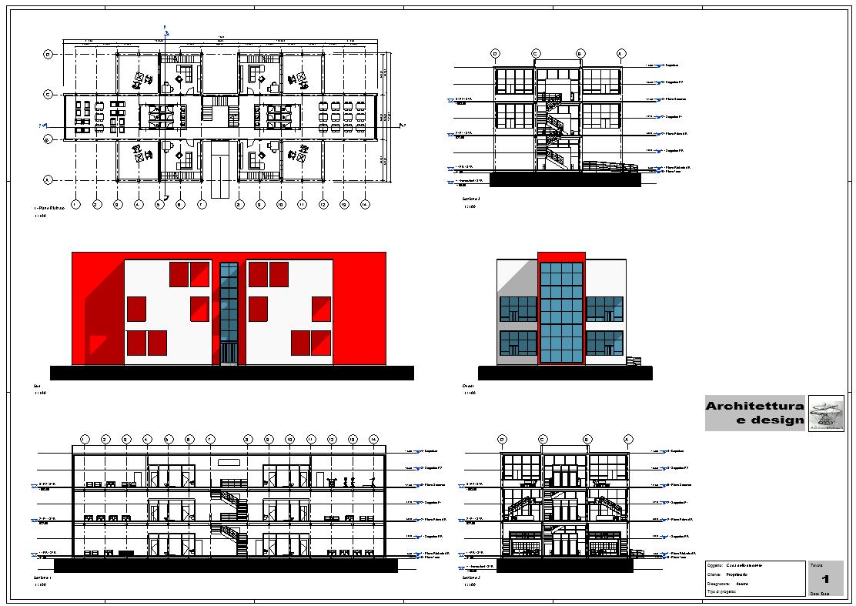 Modellazione edificio architettonico